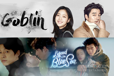 """""""Legend of The Blue Sea"""" and """"Goblin"""" premiere same day on ABS-CBN"""
