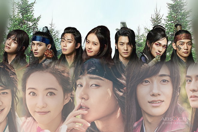Meet the dashing warriors and the lovely muse of Hwarang