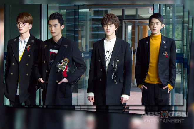 Meet The New Vibrant F4 In Meteor Garden Abs Cbn Entertainment
